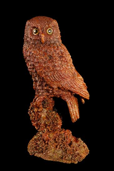 Morepork on Post | Wildlife Bronze Sculpture and Statues ... A Day To Remember